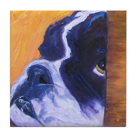 Arf Art Dogs Tile Coaster