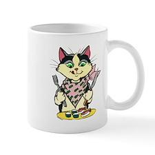 Sushi Hungry Cat Mug