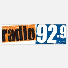 Radio 92.9 Bumper Bumper Sticker