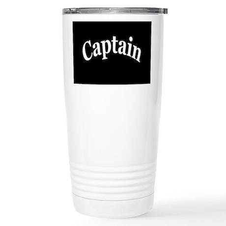 CAPTAIN Stainless Steel Travel Mug