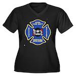 Sitka Fire Dept Dive Team Women's Plus Size V-Neck