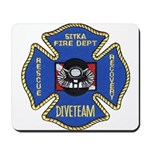 Sitka Fire Dept Dive Team Mousepad