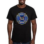 Sitka Fire Dept Dive Team Men's Fitted T-Shirt (da
