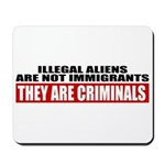 Illegal Aliens Are Not Immigr Mousepad