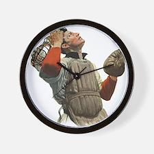Vintage Sports Baseball Wall Clock