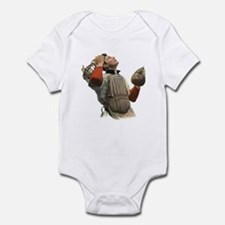 Vintage Sports Baseball Infant Bodysuit