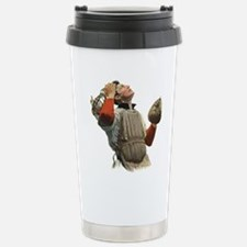 Vintage Sports Baseball Travel Mug