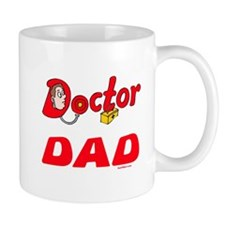 Doctor Dad Funny Small Mug