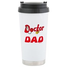 Doctor Dad Funny Travel Mug