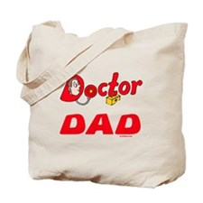 Doctor Dad Funny Tote Bag