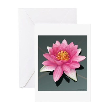 Fragrant Waterlily Greeting Card