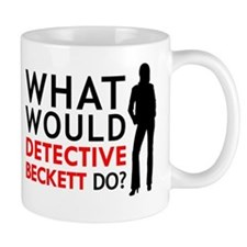 """What Would Detective Beckett Do?"" Mug"