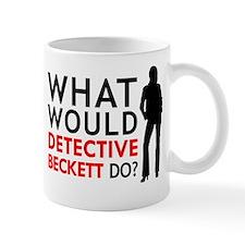"""What Would Detective Beckett Do?"" Small Mug"