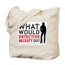 """What Would Detective Beckett Do?"" Tote Bag"