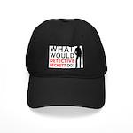 """What Would Detective Beckett Do?"" Black Cap"