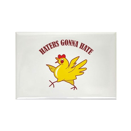Haters Gonna Hate Rectangle Magnet (100 pack)