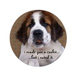 St Bernard Puppy Cookie 3.5