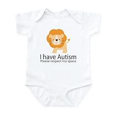 I Have Autism Lion Infant Bodysuit
