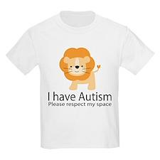I Have Autism Lion T-Shirt