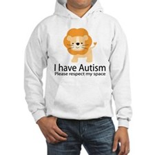 I Have Autism Lion Hoodie