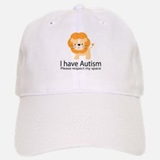 I Have Autism Lion Baseball Baseball Cap