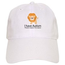 I Have Autism Lion Baseball Cap