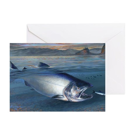 Early morning Bite Greeting Cards (Pk of 10)