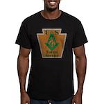U. S. Forest Service Men's Fitted T-Shirt (dark)