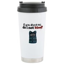 Shoot Me Stainless Steel Travel Mug
