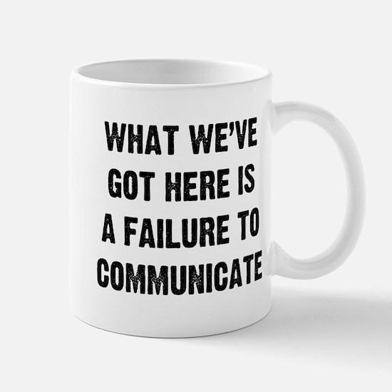 What Communicate Small Mug