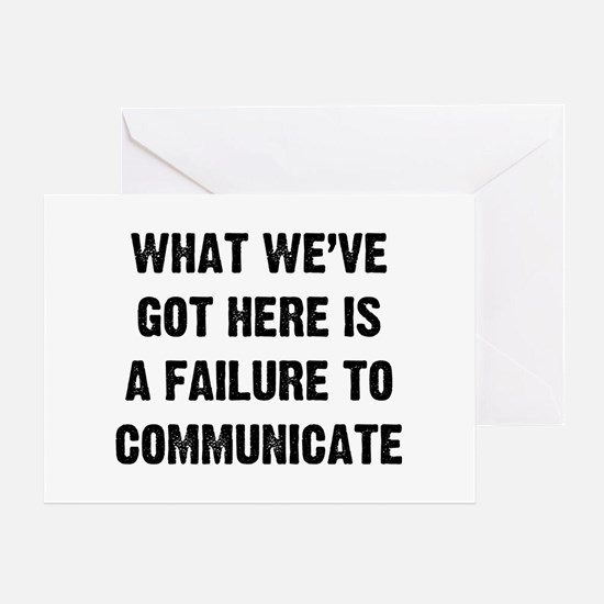What Communicate Greeting Card