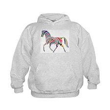 My Rainbow Horse Hoodie