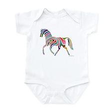 My Rainbow Horse Infant Bodysuit