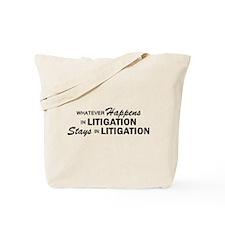 Whatever Happens - Litigation Tote Bag