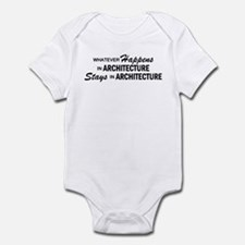 Whatever Happens - Architecture Infant Bodysuit