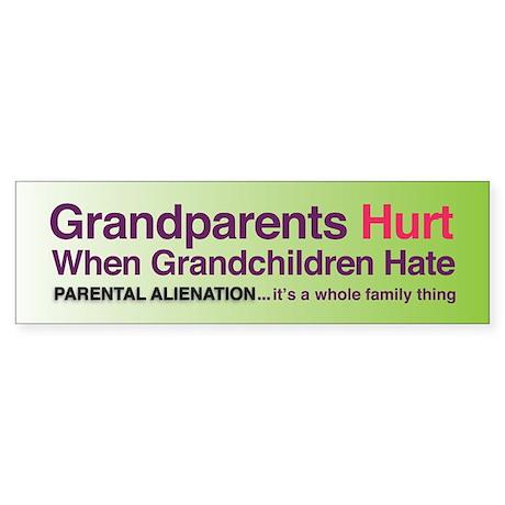 Grandparents Hurt Large-size STICKER