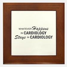 Whatever Happens - Cardiology Framed Tile