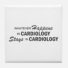 Whatever Happens - Cardiology Tile Coaster