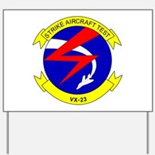 Cute Strike aircraft test Yard Sign