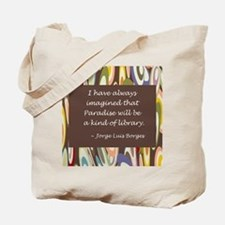 Paradise the Library Tote Bag
