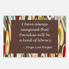 Paradise the Library Postcards (Package of 8)