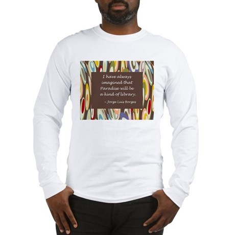 Paradise the Library Long Sleeve T-Shirt