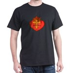 Sacred Heart/Sagrado Corazon Black T-Shirt