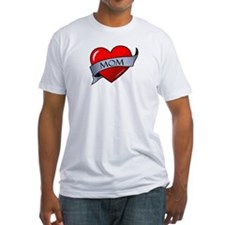 Mom Heart Tattoo Shirt