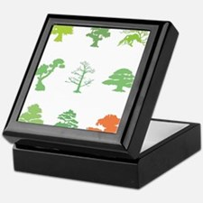 Bonsai Trees Keepsake Box
