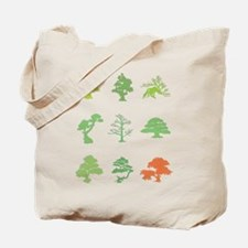 Bonsai Trees Tote Bag
