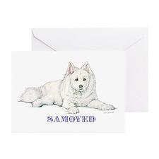 SAMOYED Greeting Cards (Pk of 10)