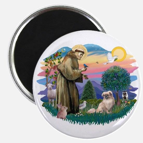 St Francis #2/ Tibetan Span #4 Magnet