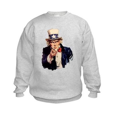 Uncle Sam Kids Sweatshirt
