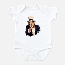 Uncle Sam Infant Bodysuit
